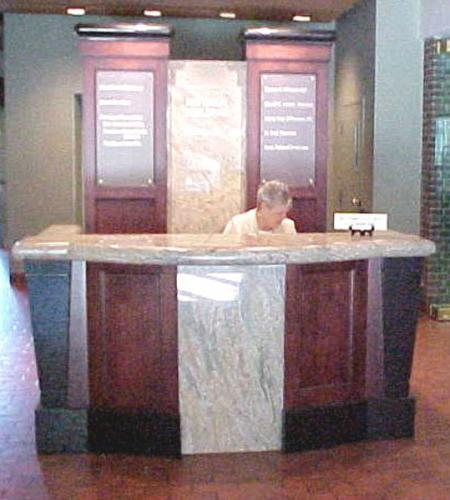 DA Davidson Reception Desk